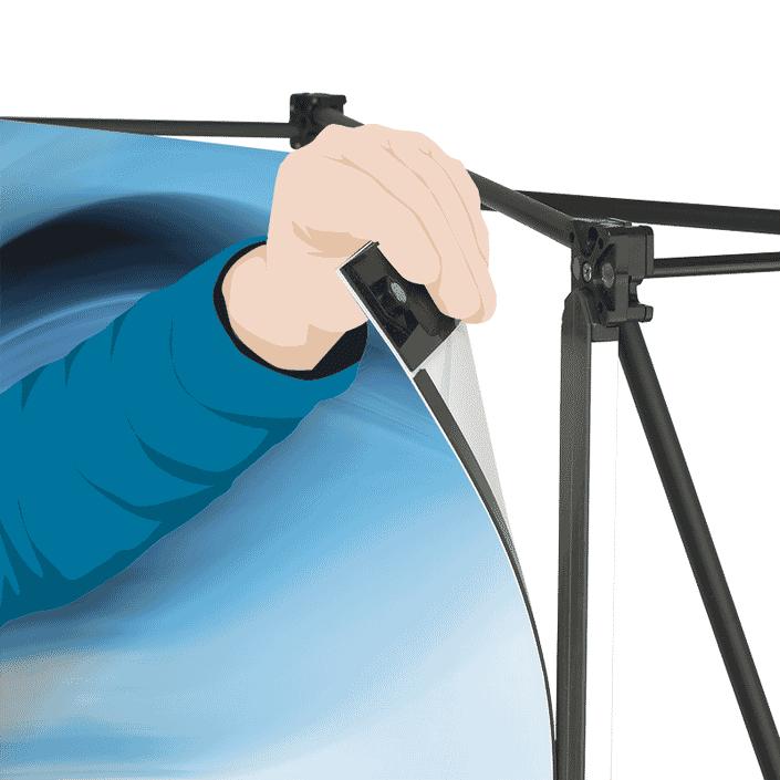 Advantage Curved Magnetic Hanger