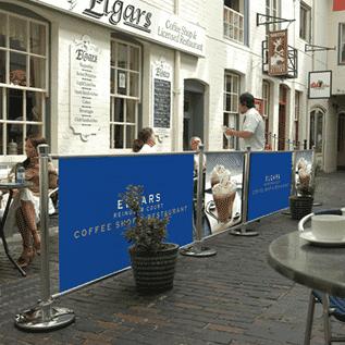 Café Banner Outdoors