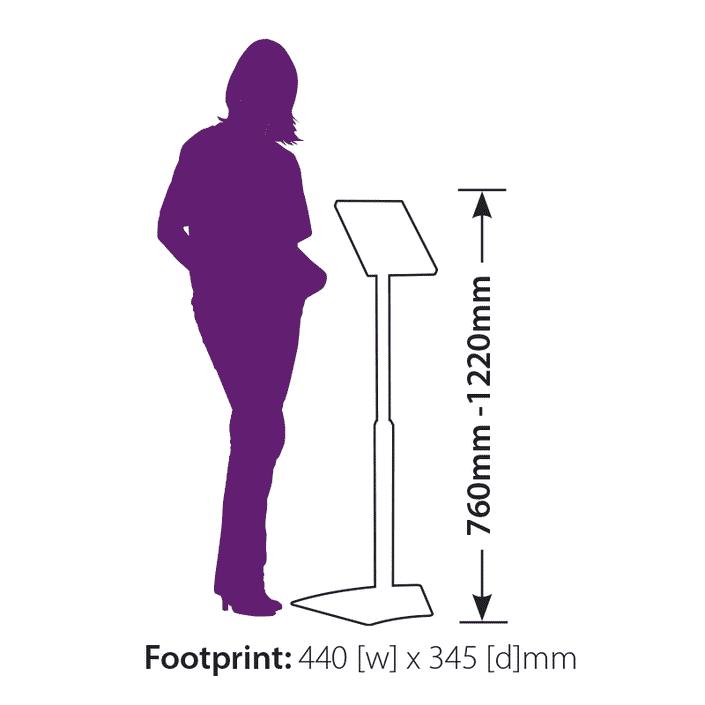 iPad Holder Footprint