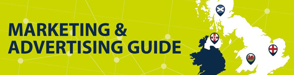 marketing and advertising blog header