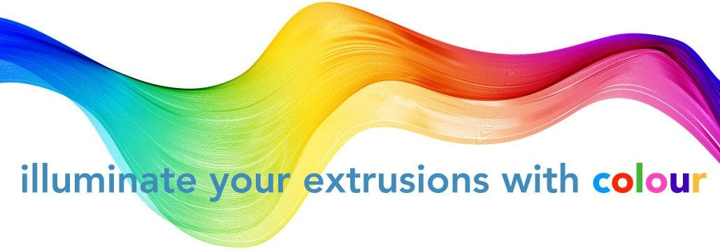 Extrusions colorées